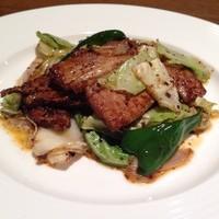 四川厨房ふう   - 回鍋肉 豚肉とキャベツの四川風味噌炒め