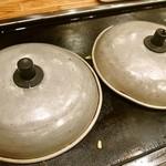 おかる - お好み焼き(蓋で蒸し焼き)