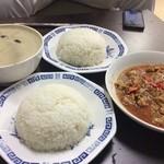 タイ料理亜路居亭 - 仕事の夜ご飯にいただきました。