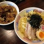まるた - スタミナつけ麺(大盛)830円