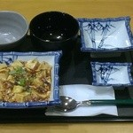 まんまや - 麻婆豆腐定食