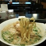 中華そばさとう - バラ肉中華690円(太麺)