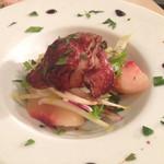 高田食堂 - 鴨肉と桃