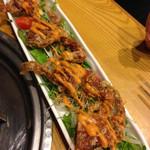 ちゃんこ鍋神乃浦 - 料理写真:ちゃんこ屋さんなのにソフトシェルクラブがメチャクチャ美味しい♪