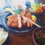 とんかつ勝健 - 特製とんかつ定食【ロース】1,780円
