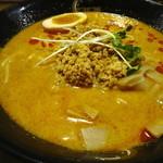 康竜 - 季節限定:冷やし豚骨担々麺