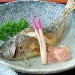 どんぐり - タカベの塩焼き