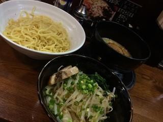 らーめん 次男坊 - 2014.08 新バージョンつけ麺