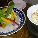 アルルの食堂 urura - バーニャカウダ