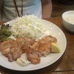 バルケッタ - 若鶏のハーブグリル(800円)