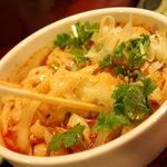 刀削麺・火鍋 XI'AN - 【刀削麺セット】の酸辣麺