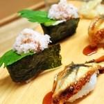 和歌寿司 - かに&鰻