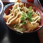 29671067 - ミニチキン南蛮丼(欲張セット)