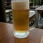 栂池ヒュッテ - ドリンク写真:生ビール