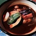 XY象SA - チキンと野菜のスープカレー辛さは5番!