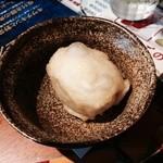 XY象SA - 半熟たまごの天ぷら150円
