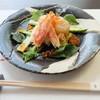 壺井 - 料理写真:帆立と蟹の酢の物