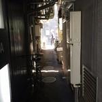 松富 - 銀座6丁目の路地裏