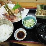 りきさん亭 - 刺身定食