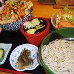 上州麺処 平野家 - 天丼とおそばのセット☆