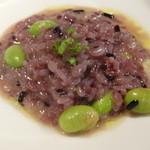 夢時庵 - 枝豆と雑穀米のリゾット