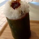 茶の葉 - かき氷 (梅)