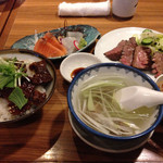 牛たん炭焼き 利久 - 極特別定食