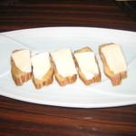 29719930 - いぶりがっこのチーズのせ