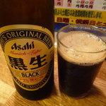 エノキ屋酒店 - 黒ビール 小瓶290