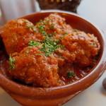 バル・イスパニヤ - ミートボールのトマト煮