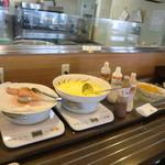 バイキングレストラン志高 - 料理写真:メインのベーコン&スクランブルエッグ