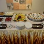吉庭 - ブッフェのデザート