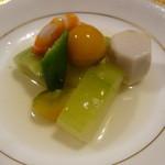 吉庭 - 冬瓜と夏野菜の冷製煮込み