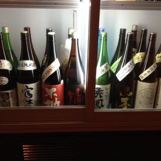 お酒は厳選した地酒・甲州ワイン・本格焼酎をご提供☆