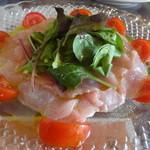 クレッシェレ - 本日のカルパッチョ(金目鯛)