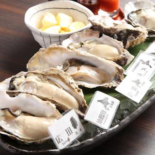 ミルキーでプリッとした食感!産地の異なる約7種の牡蠣をお届け