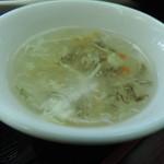健康中華庵 青蓮 - スープ