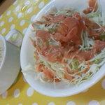 大衆レストラン No.1 - 「特選ステーキ」の「スープ」&「サラダ」