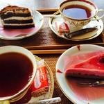 藍住茶房 - デザート&ドリンクセット