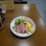 大久保だんご - Dセット(930円)の冷し中華