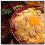 ビストロッソミュジーク - 親子丼ランチ@900円