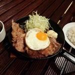NEO - 生姜焼き たまごトッピング