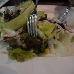 オステリア チェンティーノ - グリーンサラダ