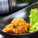 siete - じっくりコトコト煮込んだトリッパのトマト煮は、お酒と相性◎