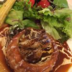 ブレイク タイム - パイケークスランチ:サイコロステーキ赤ワインソース980円