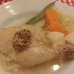 ビストロ とげまる - Plat:本日の煮込み料理(若鶏とシュークルトの煮込み)