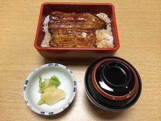 川松 - 鰻重 上