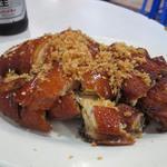 東寶小館 - 風沙雞(丸鶏の素揚げ)半隻(半羽)