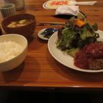 なか川 - ハンバーグ定食
