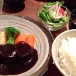 にっぽんの洋食 津つ井 - ビーフシチューランチ1,640円